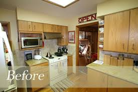 Ranch House Kitchen Remodel by Less Is More In This Mid Century Modern Ranch Kitchen Remodel