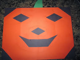 Halloween Crafts With Construction Paper Pumpkin Craft With The Cutest Story You Pinspire Me