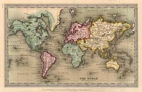 Map Of Europe And North Africa by Old World Map Map Shows U0027the Old Historical World U0027 With