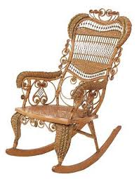 victorian wicker rocking chair would love to get my hands on