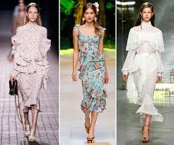 summer 2017 design trends spring summer 2017 fashion trends