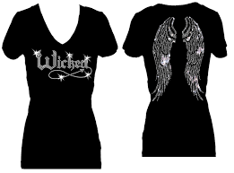 halloween angel wings wicked angel wings halloween holiday rhinestone v neck short