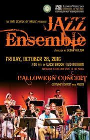 kansas city halloween events 2016 illinois wesleyan jazz ensemble to perform annual halloween concert