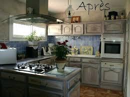 relooking cuisine avant apr鑚 cuisine relooking rustique comment relooker chene