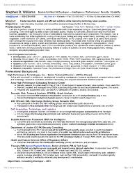Resume Sample Unix Administrator by System Architect Sample Resume