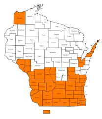 Emerald Ash Borer Map Meet The Scourge Grow U2013 Wisconsin U0027s Magazine For The Life Sciences