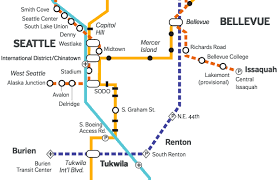 Seattle Light Rail Hours Transit Tourism Explore Seattle By Link Light Rail