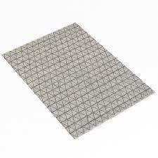 restoration hardware triango wool rug greycharcoal 3d model max