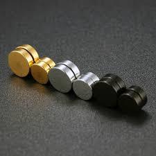 magnetic gold stud earrings gagafeel magnetic stud earrings men earring jewelry stainless