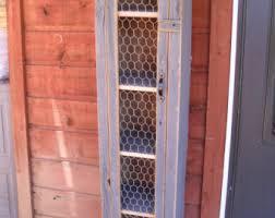 Western Cabinets Boise Chicken Wire Cabinet Etsy