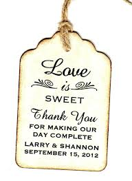 wedding favor labels gift tags for wedding favors small gift tags for wedding favors