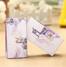 wedding treat bags online shop 50pcs lot secret garden wedding candy favor gift box