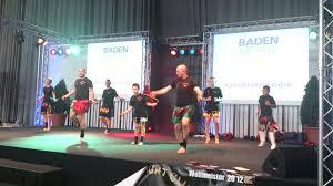 Baden Messe Freiburg Kickboxen Freiburg Karls Fightclub Vorführung Auf Der Badenmesse