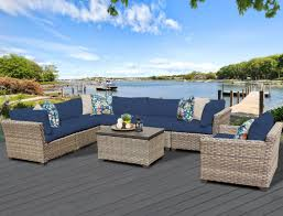 Sectional Cushions Tk Classics Monterey 8 Piece Sectional Seating Group With Cushion