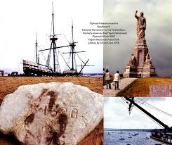 plymouth massachusetts plymouth rock mayflower ii pilgrim monument
