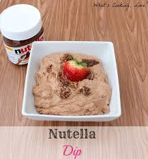 nutella dip whats cooking love