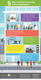 5 ways to foster learning in your workplace infographic e