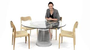 replica warren platner dining table from matt blatt youtube
