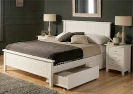Platform Bed Designs With Storage by Sweet Teenage Bedroom Decoration Featuring White Stained Wooden