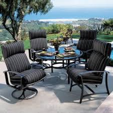 Tropitone Patio Chairs Ovation Cushion Outdoor Furniture Cushions Tropitone