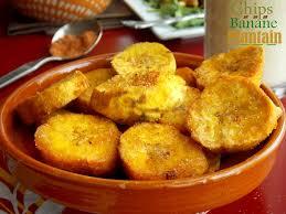cuisiner banane plantain chips de banane plantain le cuisine de samar