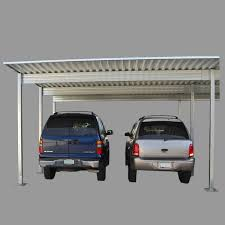 4 post 2 vehicle carport used as patio cover навес для машин