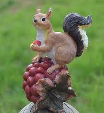 and squirrel figurine resin home desktop handwork