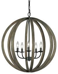 Large Rustic Chandelier Allier 5 Light Large Pendant Rustic Chandeliers By Alcove