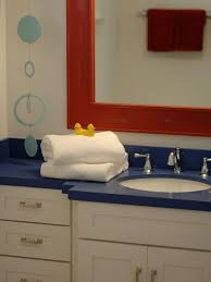 Design For Nautical Bathrooms Ideas 9 Best Red White And Blue Bathroom Images On Pinterest Bath