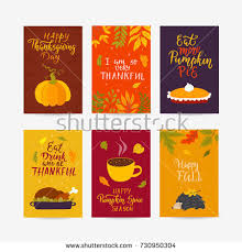 vector thanksgiving day greeting card flyer stock vector 713856010