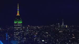 Colors Of The Mexican Flag Live Satellite News Empire State Building Lights Up In The