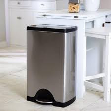 kitchen trash can ideas stainless steel kitchen trash can best kitchen trash