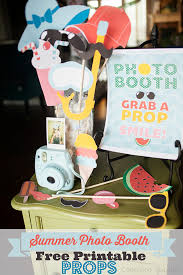 printable girly photo booth props summer photo booth props free printable photo booth props
