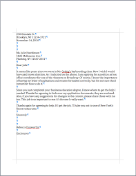 Job Application And Resume by Cover Letter Examples Margins