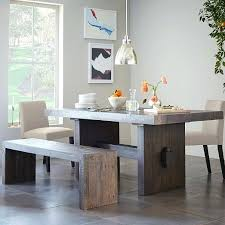 Kitchen Table Seats 10 by Dining Table Dining Table With Bench On One Side Dining Table