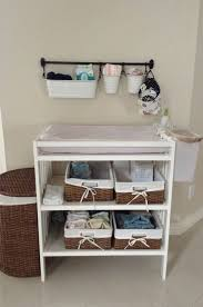 Changing Table Organizer Ideas Changing Table Organizer Ideas Recomy Tables Changing Baby