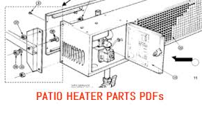Parts For Patio Heaters Gas And Electric Patio Heaters And Parts Alfresco Heating Com