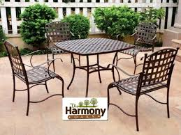 Conversation Patio Furniture Clearance by Patio 54 Metal Patio Table Metal Conversation Patio Set