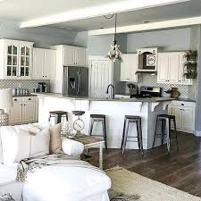 paint ideas for open living room and kitchen painting open concept living room kitchen requisite gray one of the