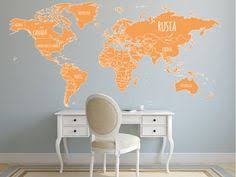 world map with country names contemporary wall decal sticker vinyl wall decal sticker country name designs 5078 stickerbrand
