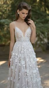 Wedding Dresses With Straps 30 Gorgeous Floral Applique Wedding Dresses Weddingomania