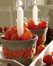 Fall Table Arrangements Orange Decorating Ideas For Fall Table Decoration With Chinese