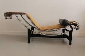 lc4 lounge chair in foal skin by le corbusier pierre jeanneret