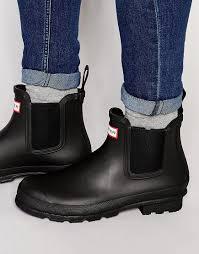 2017 hunter men black boots chelsea footwear 59 37