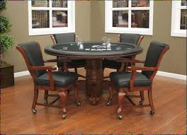 Poker Dining Room Table Poker And Games Tables Hallmark Billiards Games Room Furniture