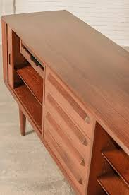 mid century ib kofod larsen teak credenza sideboard for faarup
