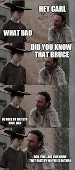 Walking Dead Meme Generator - shut up carl imgflip s h u t u p carl pinterest