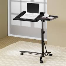 Portable Standing Laptop Desk by Coaster Flex Laptop Stand Walmart Com