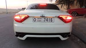 maserati back meserati cat back exhaust youtube
