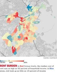Street Map Of Boston by Mapping Boston U0027s Disparity The Boston Globe